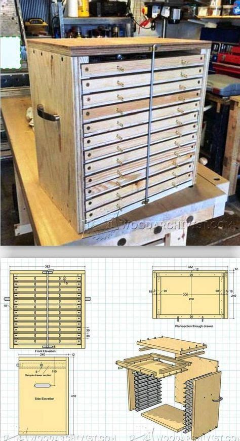 tool storage system plans workshop solutions projects