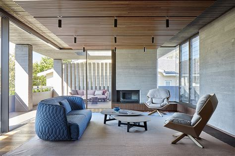 this home in australia follows the japanese aesthetic of