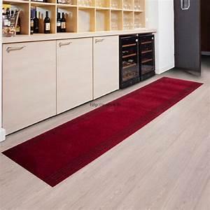 tapis de couloir cuisine tapis rouge pas cher With tapis couloir pas cher