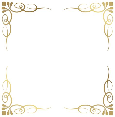 free clipart borders decorative border png transparent free images png only