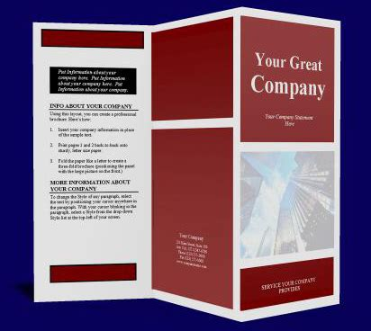 How To Design A Company Brochure by How To Create A Brochure Renanlopes Me
