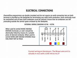 Horstmann H37xl Wiring Diagram