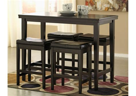 small bar height table furniture simple and small rectangular pub table in black
