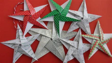 origami noel facile origami de no 235 l 6 id 233 es avec des de pliage