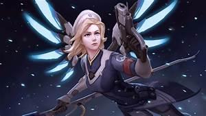 Mercy Overwatch 126 Wallpapers