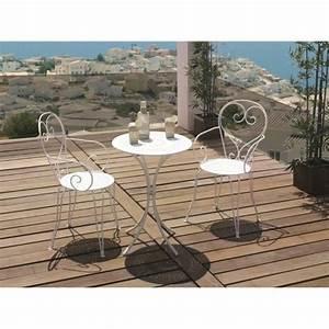 Chaise En Fer Forgé : table et chaise en fer forge achat vente table et ~ Dode.kayakingforconservation.com Idées de Décoration