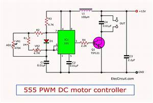 555 Pwm Led Dimmer Circuit Diagram