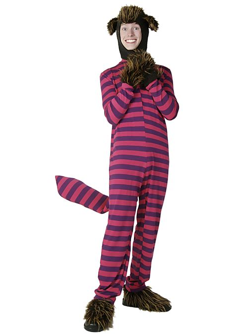 Teen Striped Cheshire Cat Costume  Teen Alice In