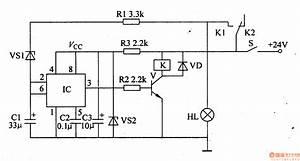 Motor Vehicle Steering Flasher 7 - Basic Circuit