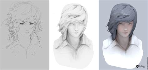practice by jiyu kaze step by step tutorials painting illustration