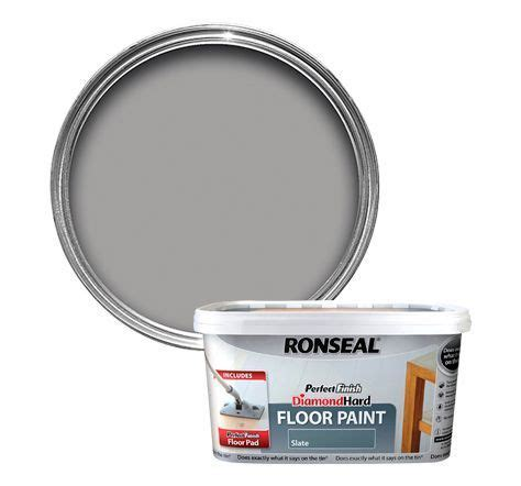 Ronseal Perfect finish Slate Satin Floor paint2.5L
