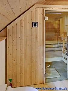 Gartensauna Mit Dusche : badezimmer sauna sauna im eigenen bad schreiner straub ~ Whattoseeinmadrid.com Haus und Dekorationen