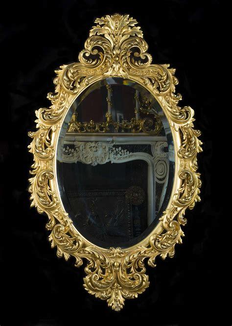 rococo giltwood ornate antique wall mirror westland london