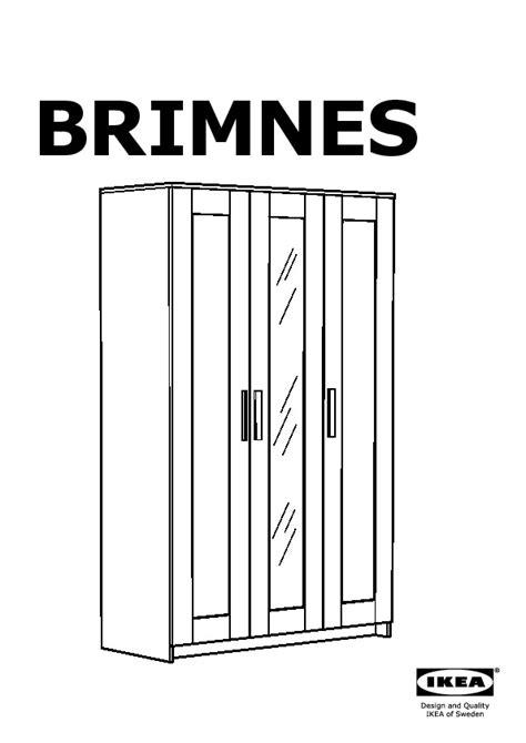 Brimnes Armoire 3 Portes (ikea France) Ikeapedia