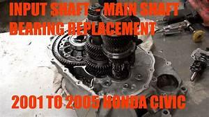 How To Replace Input Shaft Bearing    Main Shaft Bearing
