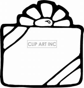 birthday present clipart black | Clipart Panda - Free ...