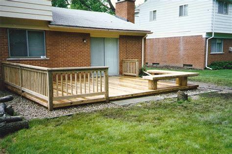 Home Deck Design Ideas by Deck Designs Decks Mobile Homes Wide Building