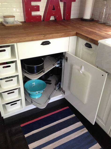 ikea carousel cabinet  kitchen remodel pinterest