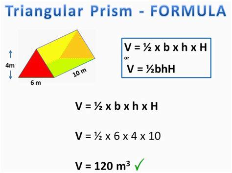 Volume Of Prisms  Passy's World Of Mathematics