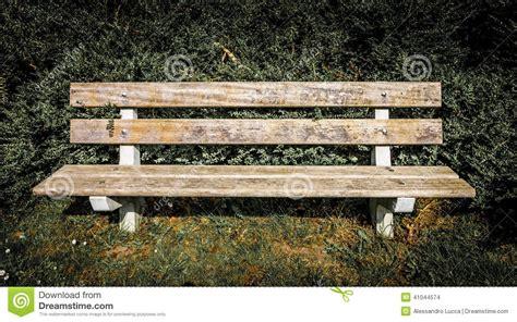Image D Un Banc by Vue De D Un Banc En Parc Photo Stock Image 41044574