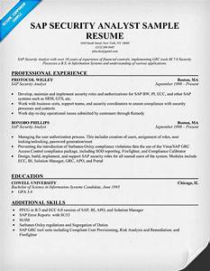 sample sap resume in sd With sap security consultant resume samples