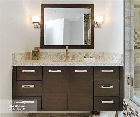 the most awesome in addition to stunning walnut bathroom