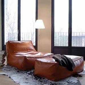 Sitzsack Aus Leder : 10 most comfortable lounge chairs ever designed ~ Sanjose-hotels-ca.com Haus und Dekorationen