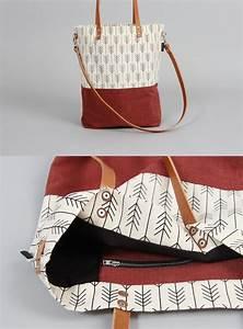 Retro Rucksack Selber Nähen : schultertaschen tasche elin print m3 braun ein designerst ck von minuk bei dawanda ~ Orissabook.com Haus und Dekorationen