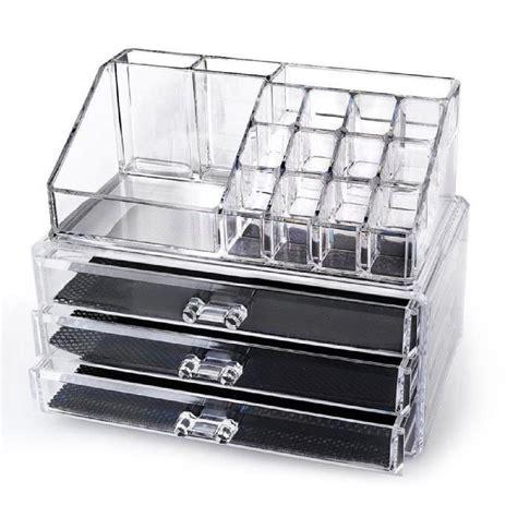 maquillage acrylique transparent tiroir organisateur cosm 233 tiques bo 238 te de porte plaquette de