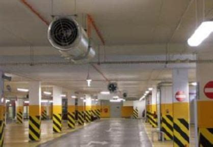 Duct Free Parking Garage Ventilation Systems