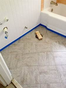 Libertydagor blog for How to lay sticky tile in bathroom