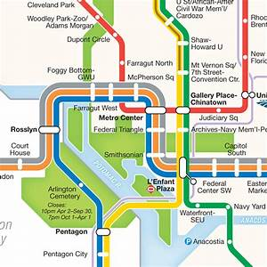 Project  Washington Dc Metro Diagram Redesign