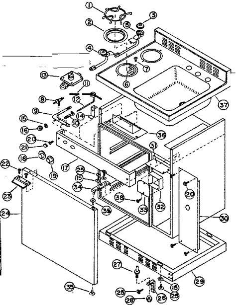 kitchen cabinet parts diagram kenmore coldspot compact kitchen parts model 6127905423