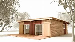 Maison Préfabriquée En Bois : autoconstruction en bois montage de maison t3 rdc kit ~ Premium-room.com Idées de Décoration