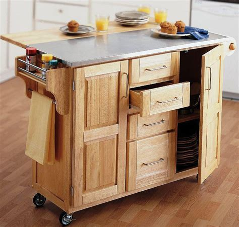 kitchen island table on wheels popular kitchen small kitchen carts on wheels plans with