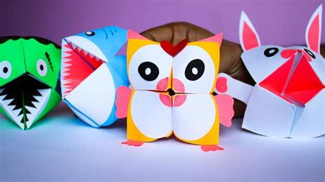 paper craft ideas  kids diy paper craft origami