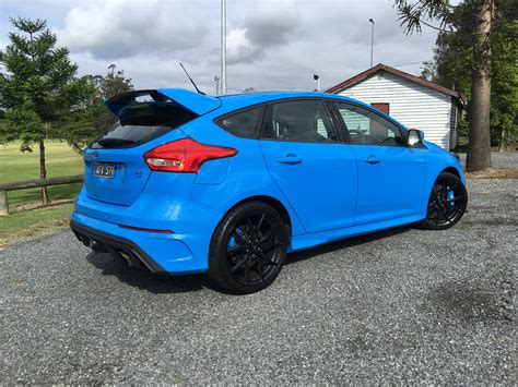 2017 Ford Focus RS Review   CarAdvice