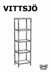 étagère En Verre Ikea : vittsj tag re brun noir verre ikea france ikeapedia ~ Teatrodelosmanantiales.com Idées de Décoration
