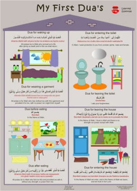 printable dua for entering the bathroom arabic alphabet and islamic educational books posters