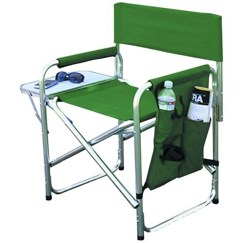 Foldable Chair With Table, Foldable Aluminum Sports Chair
