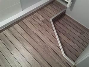 parquet pont de bateau escalier escalier bois escalier With moquette salle de bains