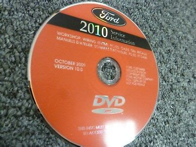 ford flex suv shop service repair manual dvd se sel