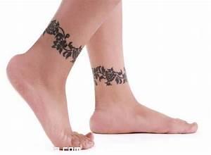 Pulseras en tobillos Tatuajes 123