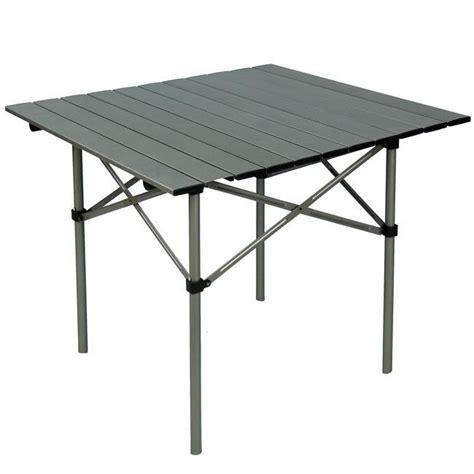 roll up aluminium table aluminium roll up cing table cing pinterest