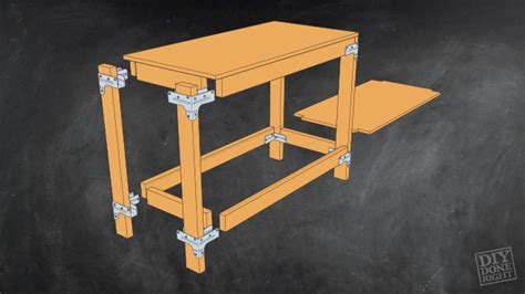 how to build a kitchen island table heavy duty work table diy done right