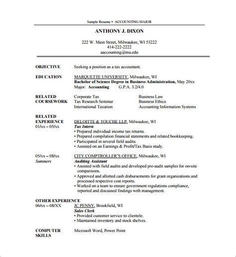audit internship resume best resume gallery