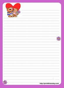 love letter stationery 8png 1667x2292 mail ideas for With letter writing pad and envelopes