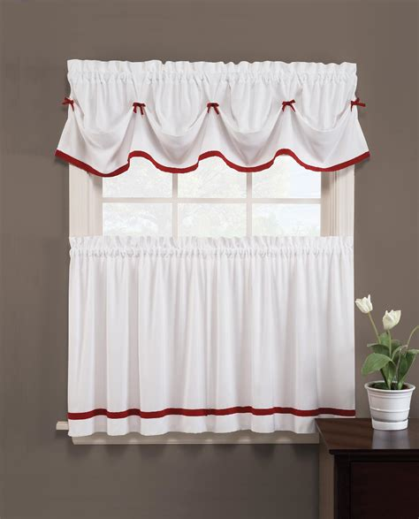 Kmart Kitchen Curtains Valances by Essential Home Valance Kmart
