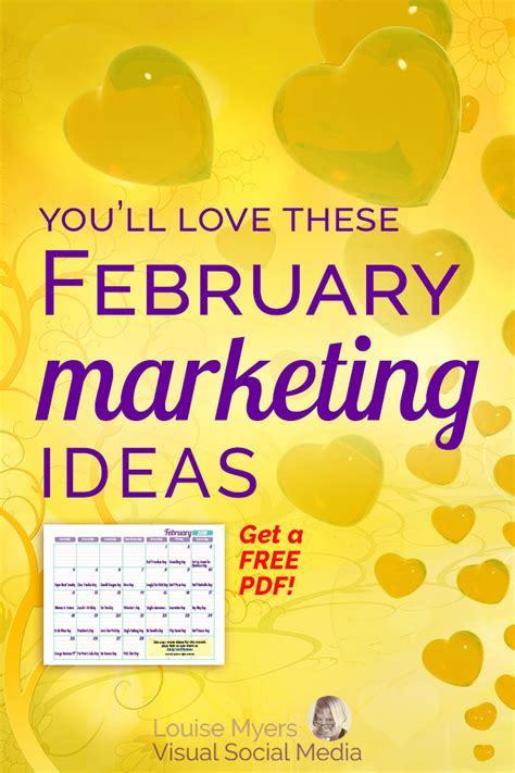 Marketing Ideas - 35 fabulous february marketing ideas free