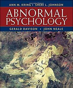 Abnormal Psychology Kring Solution Manual